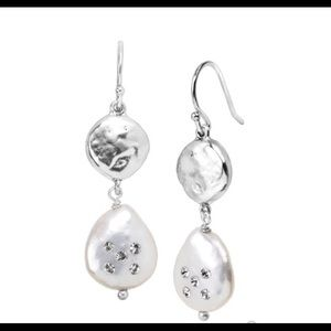 Silpada Bold As Ice Sterling Silver Earrings W3191
